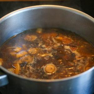 Bouillon miso - mijoté