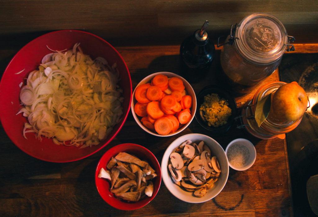 Curry Japonais Végétarien Intégralement maison 1