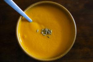 potage de carotte moelle - finie